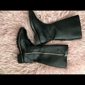 Girls Leather Riding Boot
